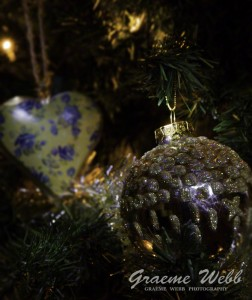 X-Mas Photography Tips - Tree decorations Image