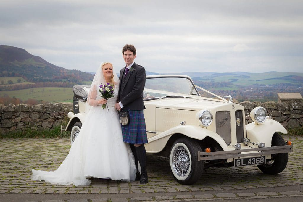 wedding photographer scottish borders